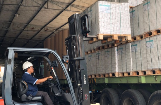 Loading & Unloading of Raw Materials